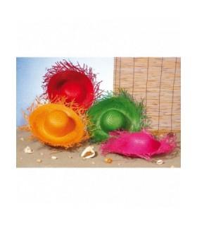 Αξεσουάρ μεταμφίεσης - Καπέλο Ψάθινο σε 4 χρώματα  από το looklike.gr