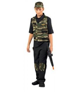 Παιδική Στολή Κομάντο Γιλέκο για αγόρια από το looklike.gr