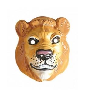 Αξεσουάρ μεταμφίεσης - Μάσκα Λιοντάρι πλαστική από το looklike.gr