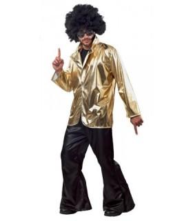 Ανδρική Στολή Σακάκι Disco Χρυσό από το looklike.gr